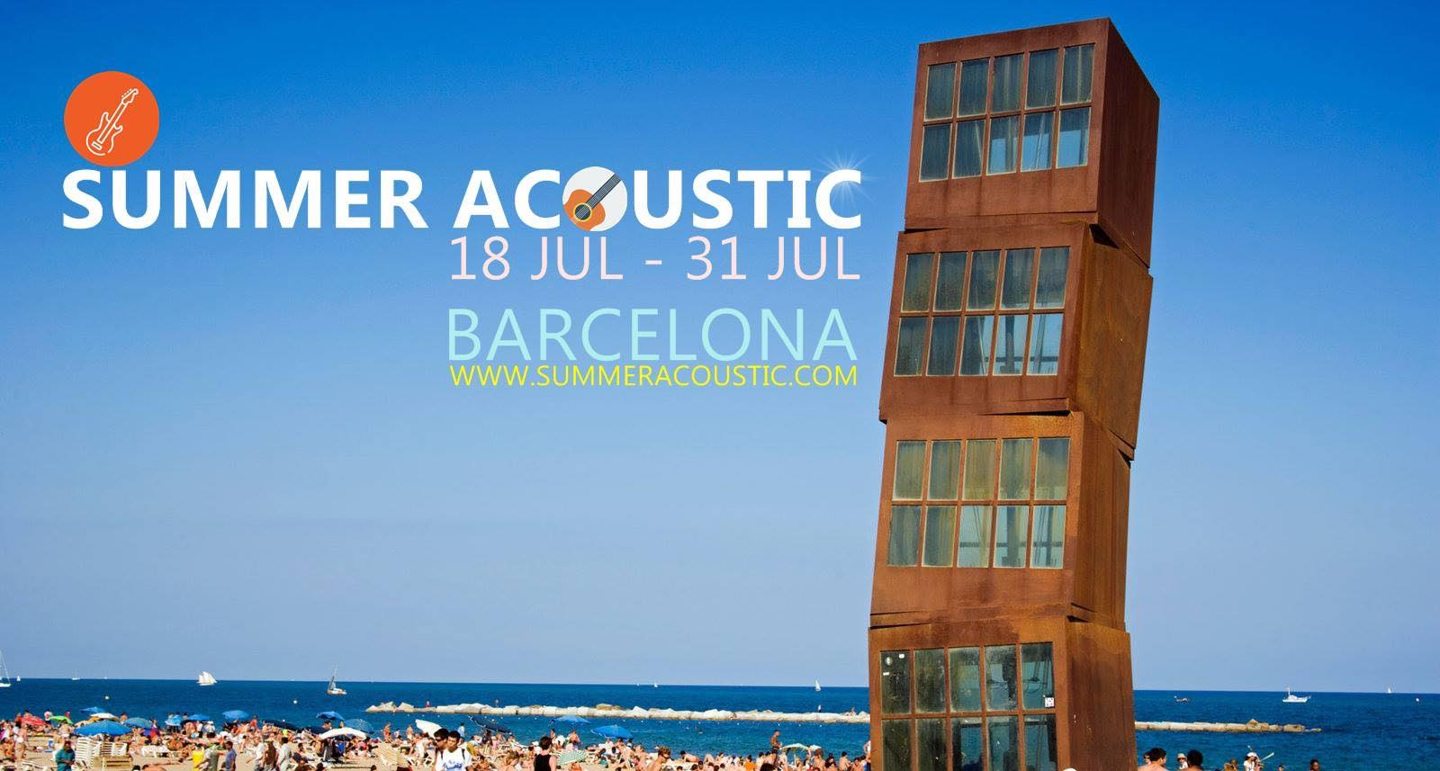 "Colaborador Oficial Del Festival De Música ""Summer Acoustic"""